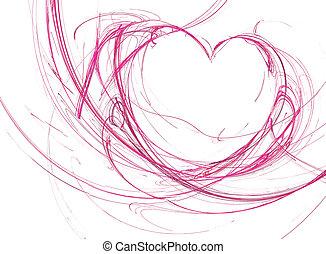 heart in fractal