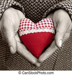 heart in old hands