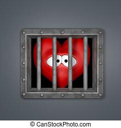 heart in prison