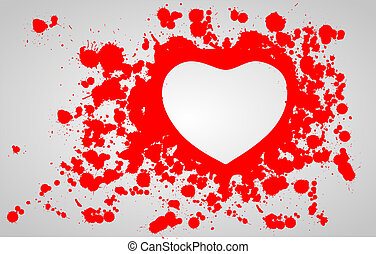 Heart in the blood