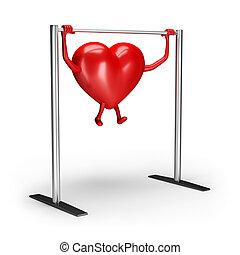 Heart in training