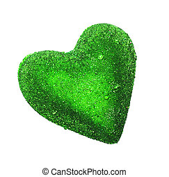 Heart isolated on white background