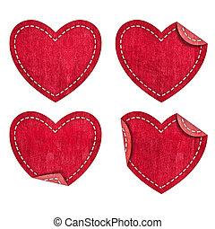 Heart  jean  - Heart from jean Valentines day collection