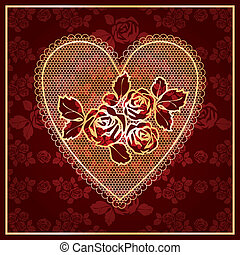 Heart Lace