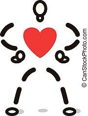 Heart Line figure