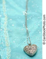 A heart locket