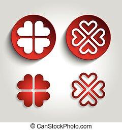 heart logo design vector illustration
