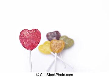 Heart Lollipop Candy