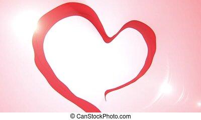 Heart loop animation