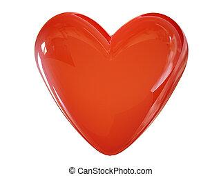 heart love 3d cg - heart love 3d cg for valentine's day...