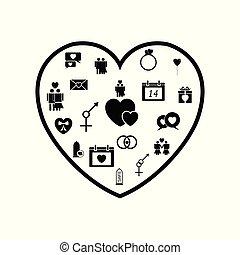 heart love concept