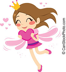 Heart Love Fairy