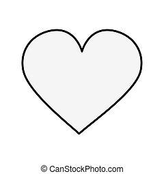 heart love pop art style icon