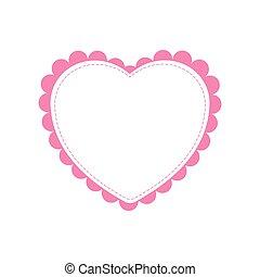 heart love romatic passion icon. Vector graphic - heart love...