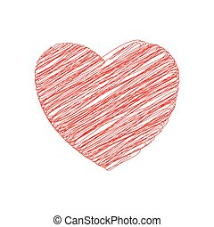 heart love romatic passion icon. Vector graphic - heart...