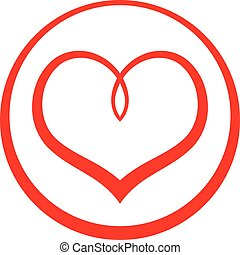 Heart Love Symbol Vector Icon