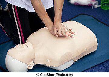 heart massage