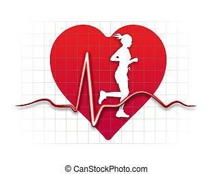 heart medicine - schematic illustration of the relation ...