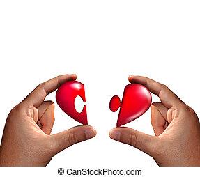 heart..., meio