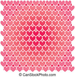 Heart Mosaic abstract mosaic background - Set of...