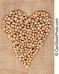 Heart of chickpeas