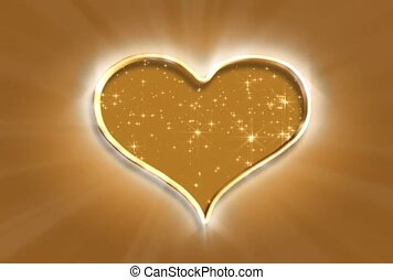 Heart of Gold Flecks