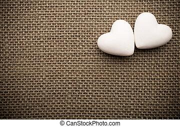 Heart of linen.