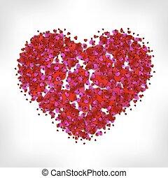 Heart of many small hearts