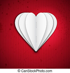 Heart of paper