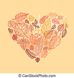 Heart of the Autumn leaves.