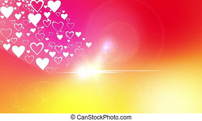 Heart of Valentine`s day