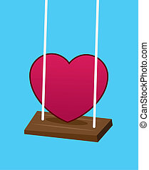Heart On Swing