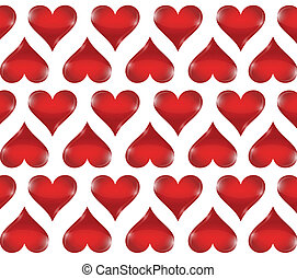 heart pattern illustration design