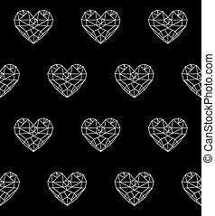 heart patterno