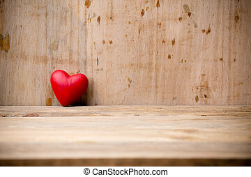 heart., rojo