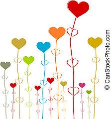 Heart row