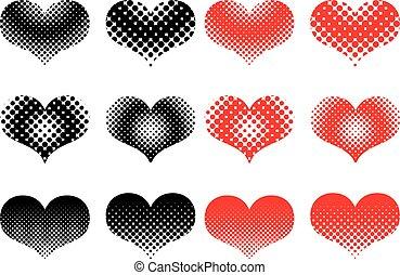 heart set ,