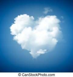 Heart Shape Cloudscape