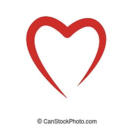 Heart Shape Concept Design. AI 10 Supported.