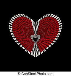 Heart shape conceptual design