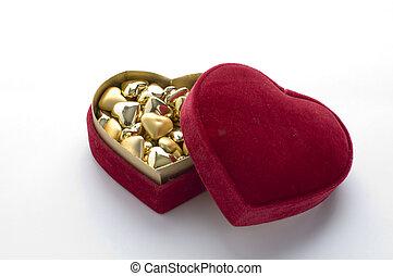 Heart shape gift box