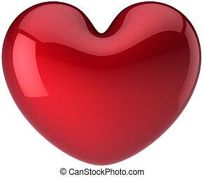Heart shape symbol. I Love you!