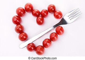 heart shape tomato