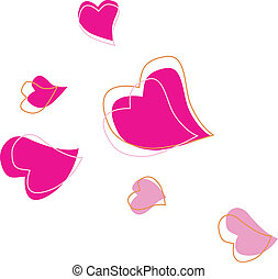 Heart shape - Vector Illustration. See similar pictures in...