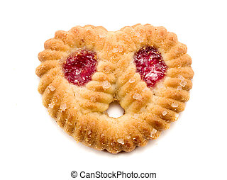 Heart Shaped Biscuit