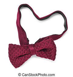heart-shaped bow tie