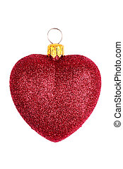 heart shaped christmas toy