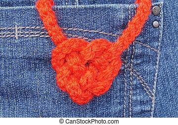 heart-shaped, csomó