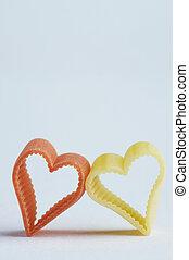 heart shaped noodle - herzförmige Nudelheart shaped noodle...