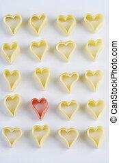 heart shaped noodles - herzförmige Nudelnheart shaped noodles - herzf?ge Nudeln